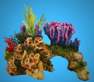 Aquarium Deko Traum Koralle Korallenriff Pflanzen Zubehor Dekoration Vo Ebay