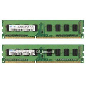 2x 2GB 4GB DDR3 Desktop Memory RAM