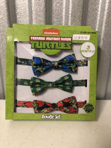 Brand New Teenage Mutant Ninja Turtle Bow Tie Set—FREE SHIPPING!! 0-24mon