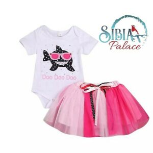 BABK Pink Minnie Mouse Theme Cake Smash 1st Birthday Outfit Photo Shoot Dress UK