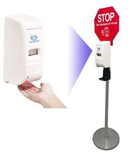Disinfezione supporto disinfezione pilastro stazione di disinfezione donatore per igiene