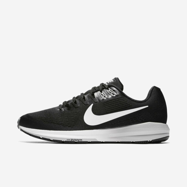 huge discount dc58f 9662d Mens Nike Air Zoom Structure 21 Sz 8-12 Black/White 904695-001 FREE SHIPPING