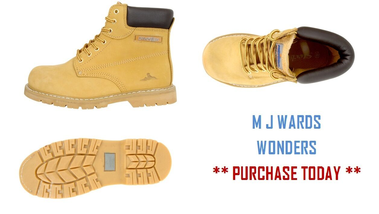 Welted Nubuck Safety botas - Leather Leather Leather Water Resistant Upper 239c25