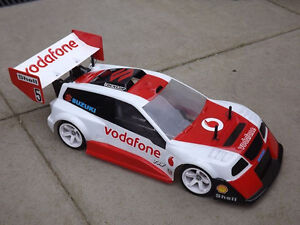 S TYPE Escudo Pikes Peak Body (200mm) FOR HPI RS4 RALLY OR TOURING CHASSIS