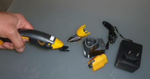 EC FUN EASY Cutter Elektroschere Accuschere Akkuschere /> Microverzahnt