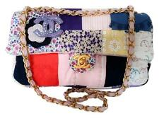 CHANEL Fabric Patchwork Limited Edition Shoulder Bag w/ Tags Pristine Condition
