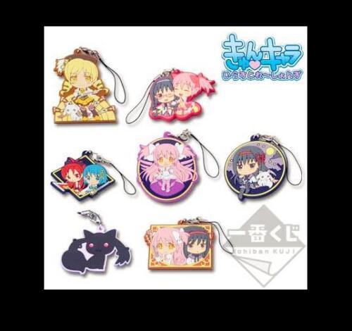 Puella Magi Madoka Magica Anime Rubber Strap Charm Keychain Keyring Ichiban Kuji