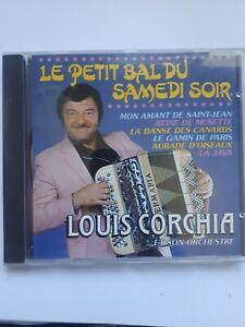 LOUIS CORCHIA - PETIT BAL DU SAMEDI SOIR- CD