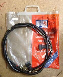 for Rear Handbrake Cable fits Lancia Delta Prisma