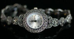 Turkish-Handmade-Jewelry-Watch-Sterling-Silver-925-Bracelet