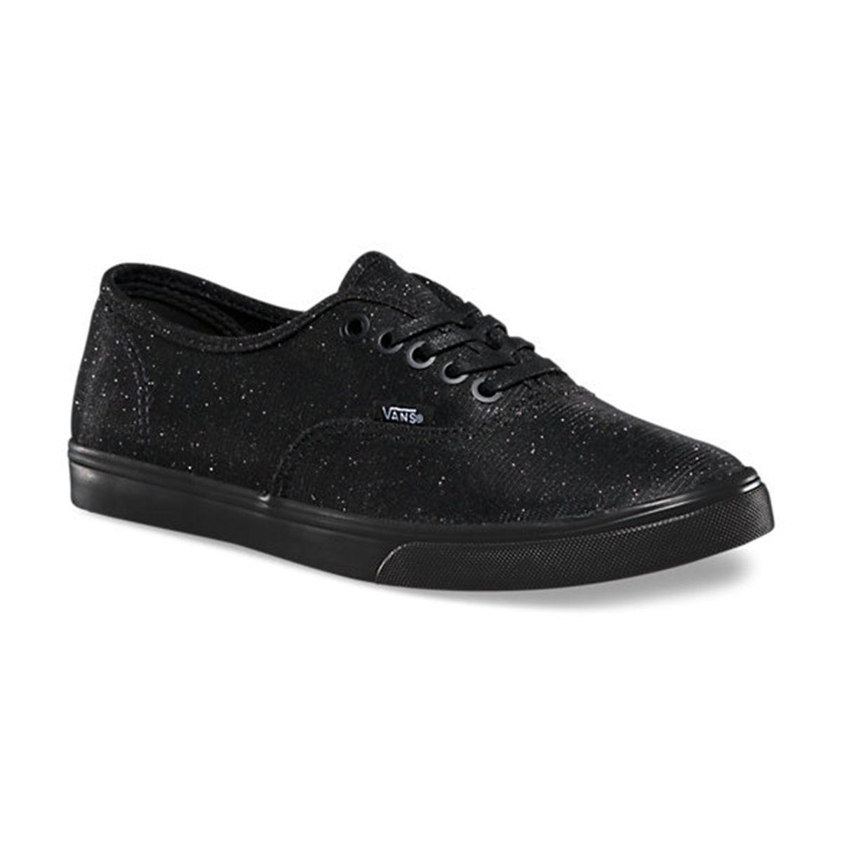 Vans AUTHENTIC LO PRO Womens shoes (NEW) Glitter Black SPARKLE SPARKLE SPARKLE BLING   Size 5-10 dec4fc