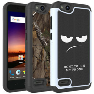 new styles 5024a 2d0df Details about For ZTE Avid 4 / ZTE Tempo X Case Hard Silicone Hybrid  Shockproof Phone Cover