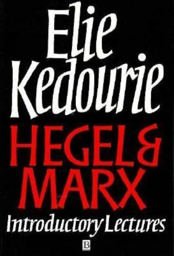 Hegel and Marx: Introductory Lectures by Kedourie, Elie Paperback Book The Fast