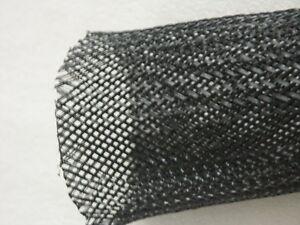 kabelkonfektion kabelverkleidung kabelh lle ca 70cm schwarz kabelsammler neu ebay. Black Bedroom Furniture Sets. Home Design Ideas
