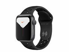 Apple Watch Series 5 Nike+, 40mm, Alu. space grau, Sportarmband anthraz/schwarz