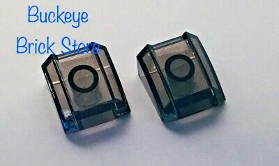 Lego Lot of 5 New Dark Bluish Gray Slopes Curved 2 x 2 Lip No Studs Pieces