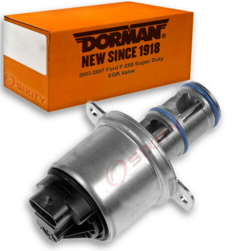 Exhaust Gas ng Dorman EGR Valve for Ford F-250 Super Duty 2003-2007 6.0L V8