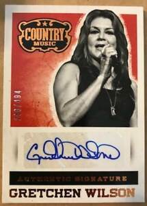 2014-Panini-Country-Music-Signatures-Autographs-Base-Blue-Gold-Pick-From-List