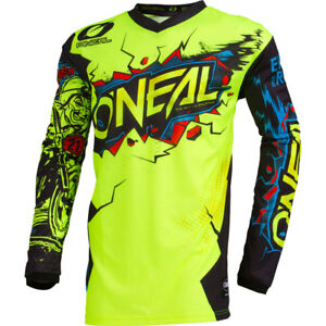 64f0d899cd51 ONeal Villain Neon motocross MX dirt bike MTB mountain bike off-road ...