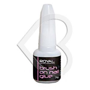 Royal-Brush-On-Nail-Glue-7gm-Strong-Adhesive-Acrylic-False-Tip