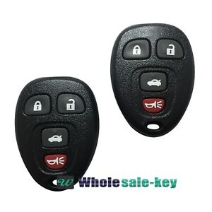 Image Is Loading 2 Keyless Entry Remote Key Fob Transmitter Clicker