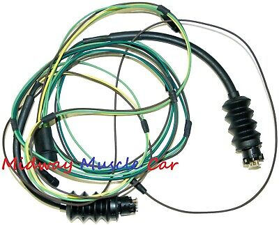 Rear Body Tail Light Lamp Wiring Harness 67 68 Chevy Gmc Pickup Truck Ebay