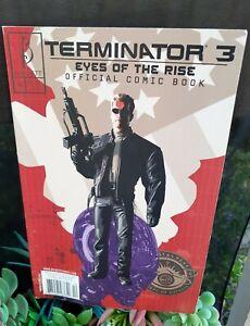 Terminator 3 Eyes Of The Rise Official Comic Book Beckett Comics Oct 2003 No 4