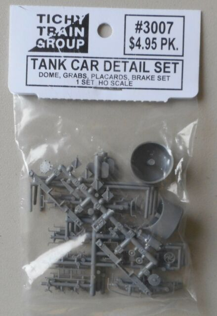 Tichy HO Scale Tank Car Detail Set #3007  Bob The Train Guy