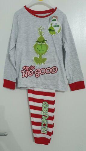 Primark Grinch kids girls boys 1-15 years  christmas family range pyjamas child