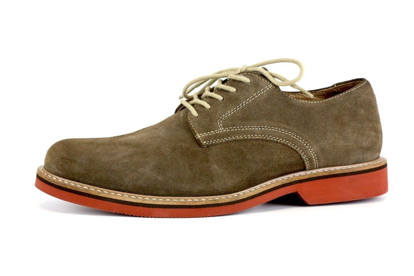 1901 marrone Suede Uomo Lace Up Oxfords Taglia 7.5M 8434