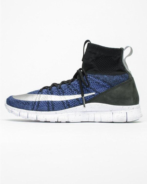 Nike Free Flyknit Mercurial FC Black/Blue Out (Sold Out Black/Blue World Wide) en US 9.5 294cf7
