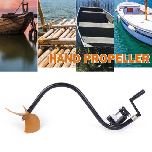 Manueller Bootspropeller Außenbordmotor-Propeller für Trolling Inflatable Boat