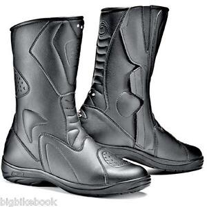 Sidi-Tour-Rain-Motorcycle-Bike-Boots-black-eur-42-uk-8-B57