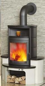 kaminofen dauerbrandofen hark avenso negro 7 kw ebay. Black Bedroom Furniture Sets. Home Design Ideas