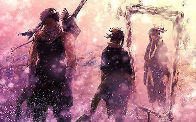Uzumaki Naruto Japanese Anime Art UZN06 POSTER A4 A3 BUY 2 GET 3RD FREE