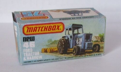 Repro box Matchbox Superfast nº 46 ford tractor and har