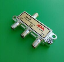 PHILMORE CCS-1 2X SOLDER-LESS ANTENNA COAX CABLE SPLICE COUPLER FOR RG-6 RG-8X