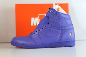 63db57e1ee Details about Nike Air Jordan Retro 1 High OG G8RD Gatorade Grape Rush  Violet AJ5997-555 8-15