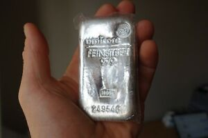 Umicore Bullion Silver bar 1,000g (1kg) 999 purity - with proof of purchase