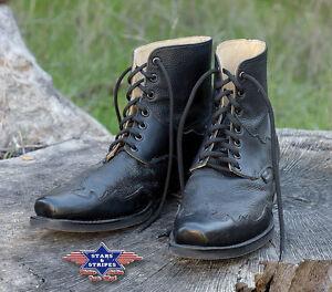 Vereinigt Stiefelette Cowboy-stiefel Schwarz Country Western-boots Herren Henderson S&s üBerlegene (In) QualitäT