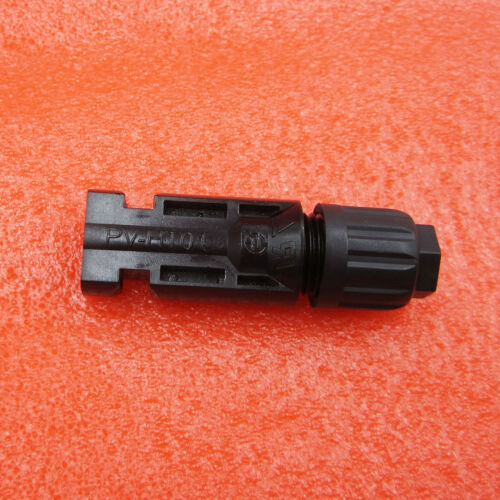 1 Pairs MC4 Male Female Wire PV Cable Connector Solar Panel Energy Adapter