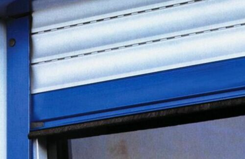 2 x 2 m GARAGENTOR-Bürstendichtung INOX-ROSTFREI mit wetterfestem PP-Besatz