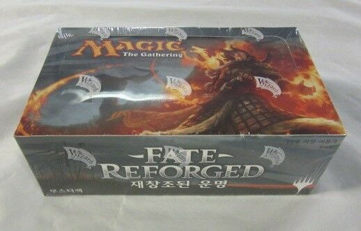 Box of boosters destiny reforgé japanese-japanese fate reforged booster box