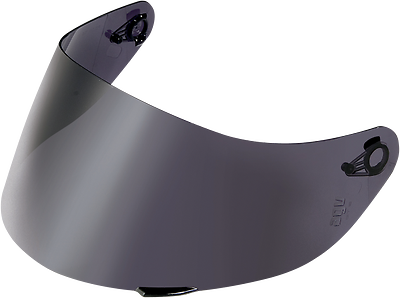 Smoke//One Size AGV GT2 SR Pinlock-Ready Face Shield Street Motorcycle Helmet Accessories