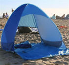 Free set up Beach Tent Shelter Sun UV Shade Pop Up Canopy Fishing Camping Picnic