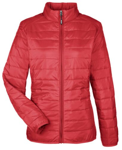 LADIES INSULATED ZIP UP PUFFER JACKET WATER RESISTANT PACKABLE XS-3XL POCKETS