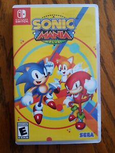 Sonic Mania Plus Game And Case For Nintendo Switch Ebay