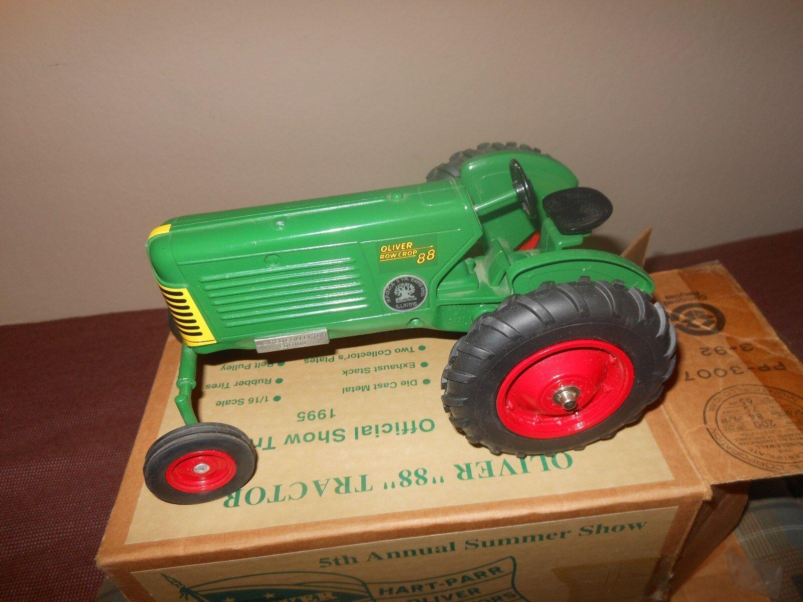 Oliver 88 spielzeug traktor (moline, weiße) (1   16), ausgabe 1995