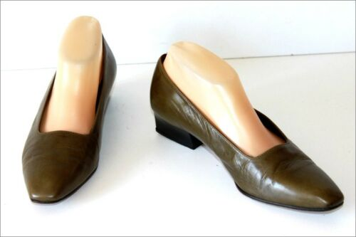 Be 5 39 Bronze En Cuir T Vert Balizza Vintage Chaussures wliTukXOPZ