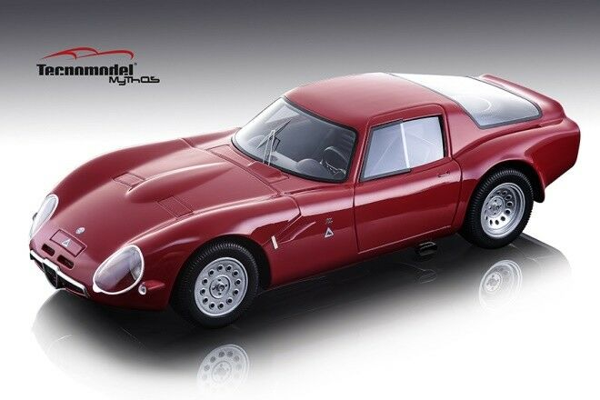 Alfa Romeo tz2 1965 Press versión rojo 1 18 Model Tecnomodel